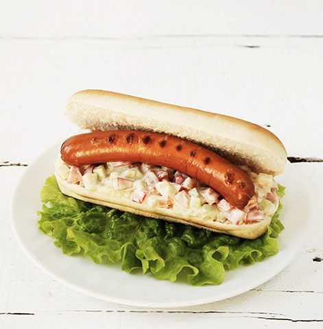 Salchichas de pavo con Pan Panrico® Hot Dog